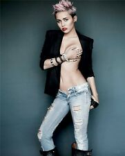"""Miley Cyrus Pop Rock Singer Sexy Girl Wall Poster 16""""x13"""" C006"""