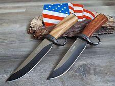 2 x Messer Knife Bowie Buschmesser Coltello Cuchillo Couteau Hunting Jagdmesser