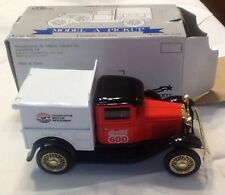 Racing Champions Ford Model A Pickup Coca Cola 1/25 Scale Die Cast Lockable Bank