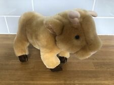 """MERRYTHOUGHT DAISY FROM JERSEY COW / BULL SOFT TOY 10"""" LONG X 8.5 TALL APPROX"""