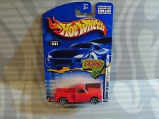 2002 HOT WHEELS  ''FIRST EDITIONS'' #031 = CUSTOM `69 CHEVY = RED  ,E910 win