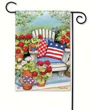 Magnet Works Patriotic Pillows Garden Flag