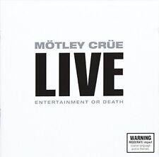 Motley Crue - Live: Entertainment or Death [New CD] Australia - Import