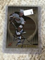 1999-00 ITG Be A Player Millennium Signature Series Brendan Morrison #149 Auto