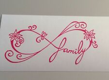 Infinity Family Decal Car Window Sticker Wall Vinyl Funny