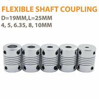 Flexible Shaft Coupling Coupler Stepper Motor CNC 3D Printer 4, 5, 6.35, 8, 10mm