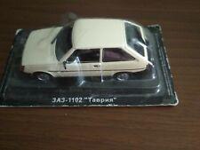 "ZAZ 1102 ""Tavria"" AutoLegends USSR 1988 Diecast model 1:43. Deagostini NEW"