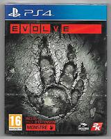 EVOLVE Neuf sous blister Jeu Sony Playstation PS4
