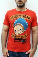Fishbone Manga Comic Neo Tokyo High Challenge Vol 11 T SHIRT ORANGE M Vintage