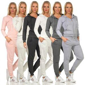 Damen Trainingsanzug Hose Jogginganzug Rock Creek Sweatshirt Pulli Basic D-459