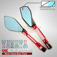 CNC Motorcycle Rear View Rearview Side Mirrors For DUCATI STREETFIGHTER/S 848