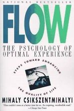 FLOW by Mihaly Csikszentmihalyi FREE SHIPPING paperback book happiness purpose