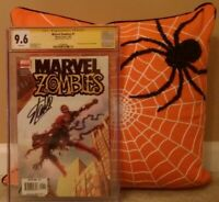 MARVEL ZOMBIES: #1 CGC 9.6 SS STAN LEE; FANTASY #15 HOMAGE; SPIDER-MAN; KIRKMAN