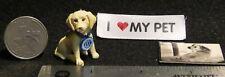 Golden Retriever Puppy Dog Animal Christmas Poster Estate As Is 1:12 Mini Ca2789