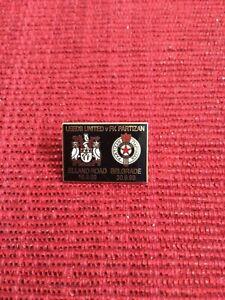 Leeds Utd v Partizan Belgrade UEFA Cup Badge, 1999