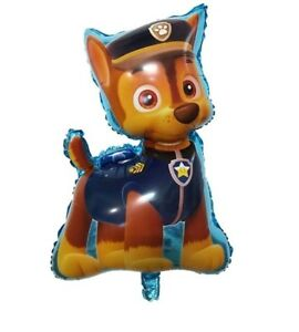 3 PAW PATROL FOIL Balloons CHASE Puppy Happy BIRTHDAY BOY Decoration Helium baby