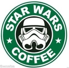 Star Wars Coffee Helmet Toolbox Bumper Sticker Decal Made In Usa