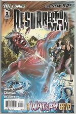 Resurrection Man #3 : DC Comic Book : New 52 Collection