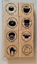 New Retired Stampin' Up! Wood-Base Rubber Stamps, Many Patterns to Choose