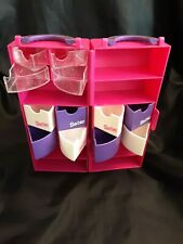 Vintage Barbie Fashion Carrying Storage Case for Accessories & Wardrobe PreOwned