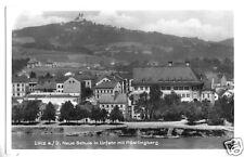 AK, Linz a.d. Donau, Neue Schule in Urfahr, ca. 1940