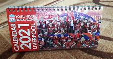 CALENDAR Liverpool 2021 loose-leaf calendar 12 month football England Champions