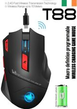 4800 DPI 7 Programmable Button Rechargeable Wireless Optical Gaming Mouse Pro