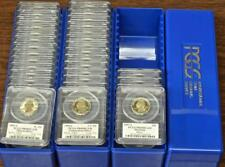 1999-2008 Set Of 50 Silver State Quarters, Uncirculated Proofs PR69DCAM PCGS