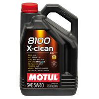 MOTUL 8100 X-CLEAN 5W40 SYNTHETIC ENGINE OIL 5 LITRES 5L