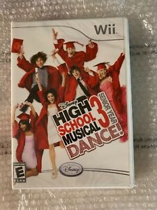 High School Musical 3 Senior Year Dance Nintendo Wii 2007 Brand New Sealed