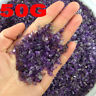 50g Small Natural Amethyst Point Quartz Crystal Stone Rock Chips Lucky Healing