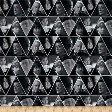 Harry Potter Digital Characters Triangles Camelot 100% cotton fabric by the yard