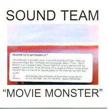 (M229) Sound Team, Movie Monster - DJ CD