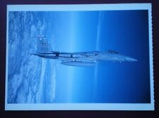 POSTCARD AIR BOEING USAFF F-15C MODERN MILITARY AIRCRAFT