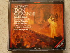Mozart : Don Giovanni OTTO KLEMPERER George London Hilde Zadek Cunitz Weber 3CD
