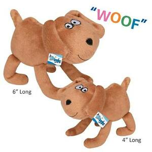 Puppy Pals Plush Dog Character Toys For Dogs With Barking Soundchip Choose Size