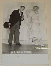PHOTOGRAPHIE de Réna et Jean - Artistes de Music-Hall (?)