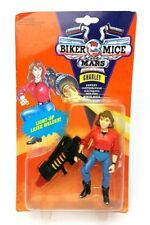 Vintage ☆ CHARLEY BIKER MICE FROM MARS Figure ☆ GALOOB MOC Sealed Carded 90s
