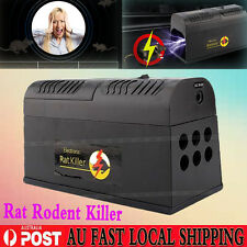 PRACTICAL RODENT KILLER ELECTRIC ELECTRONIC RAT MOUSE MICE REPELLANT TRAP PEST