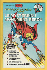 French Comic Megavolt Le Mystere Du Monument Perdu Improve Your Vocabulary VGFN