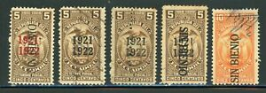 ECUADOR Revenue Fiscal Specialized: LOT #16 - SMALL ASSORTMENT - SEE SCAN $$$