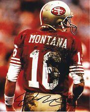 Joe Montana San Fransisco 49ers autographed 8x10 photograph RP