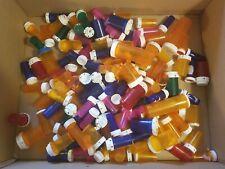 135 mixed sizes / colors Empty Pill RX Prescription Bottles Crafts