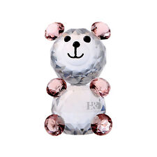 Crystal Paperweights Little Bear Figurine Cut Glass Xmas Wedding Ornaments Gifts