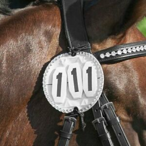 Competition Numbers, Bridle Numbers, Pair of Starting Numbers, Plain or Bling
