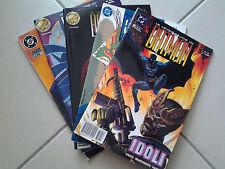 LOTTO 5 PZ. DC PLAY PRESS - LE LEGGENDE DI BATMAN - N. 8, 13, 18, 20, 23