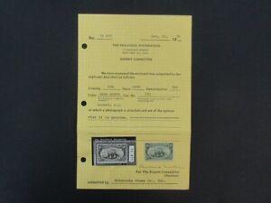 Nystamps US Stamp # 291 Mint OG $700 PF Certificate f28y