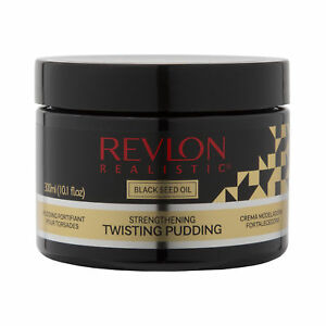 Revlon Realistic Black Seed Oil Strengthening Twisting Pudding Flake-free 10.1oz