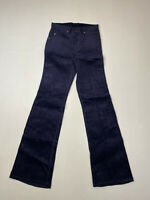 LEVI'S 632 VINTAGE CORD FLARE Jeans - W29 L34 - Navy - New With Tags - Men's