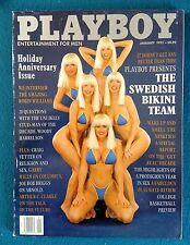 January 1992 Issue Of Playboy Magazine Comp. Featuring Swedish Bikini Team   #4